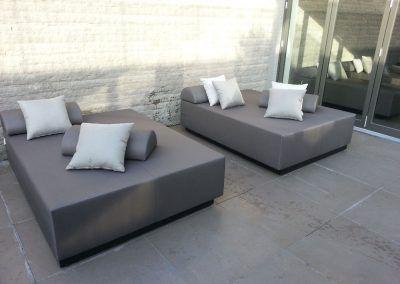 loungebedden tuin