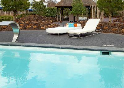 ligbed zwembad