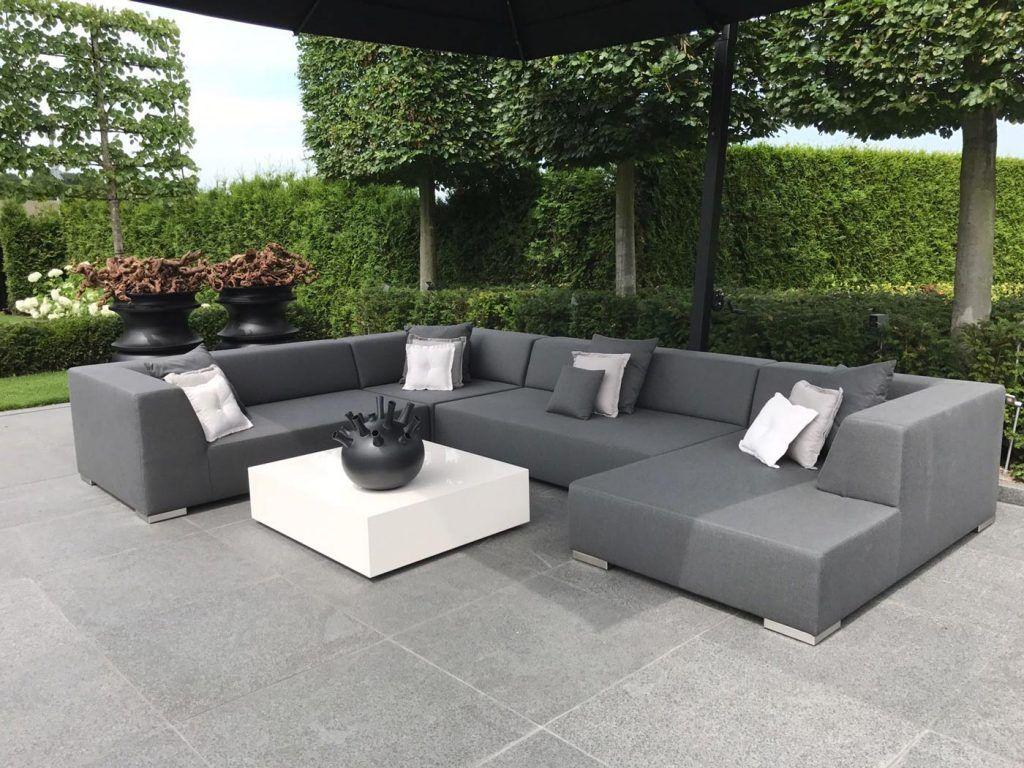 Luxe Loungeset Zwart.Loungebank Loungebanken Dutch Riviera