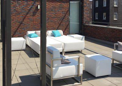 Loungeset Balkon
