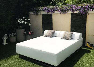 Loungebed tuin