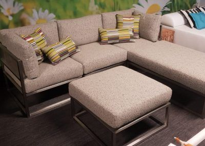 Modulaire RVS fauteuils- en banken